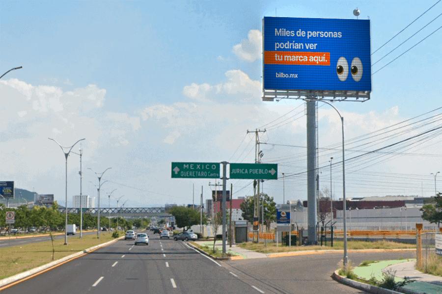 Imagen de espectacular en Carretera 57 y Jurica