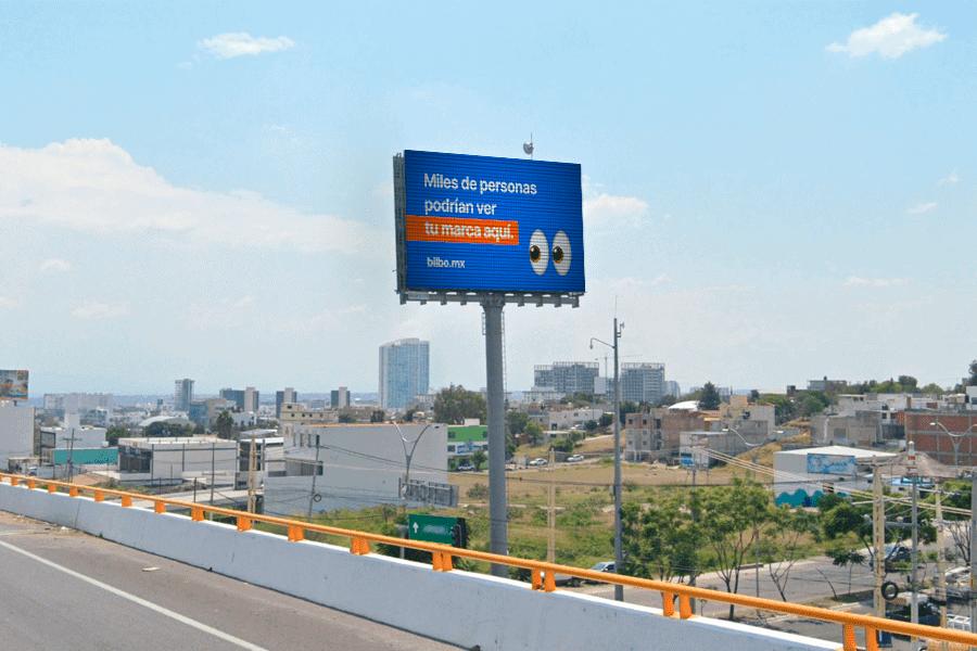 Imagen de espectacular publicitario Juriquilla querétaro
