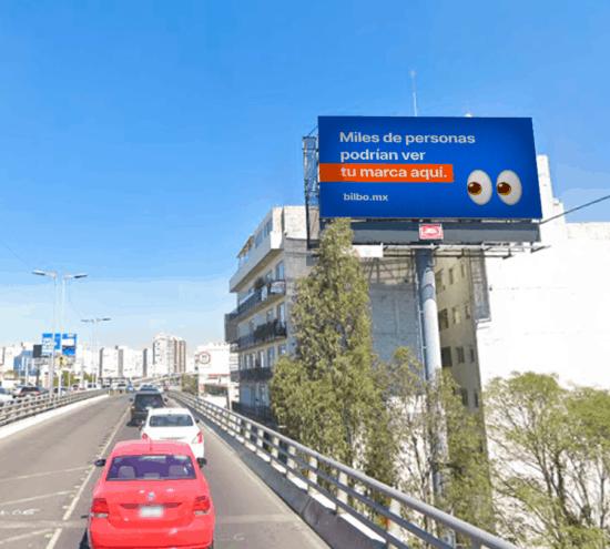 Pantalla led espectacular en periférico Ciudad de méxico CDMX