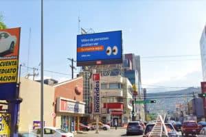 Pantalla Espectacular LED en Calle Padre Mier Monterrey, Nuevo León