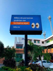 Pantalla LED Espectacular Publicitaria en Avenida Nichupte, Cancún, México